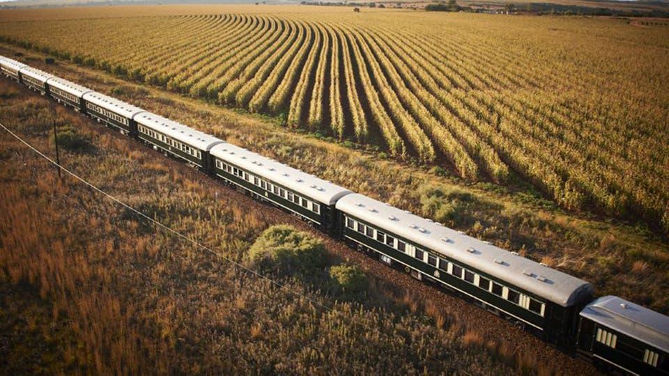Este tren es conocido como el Orgullo de África