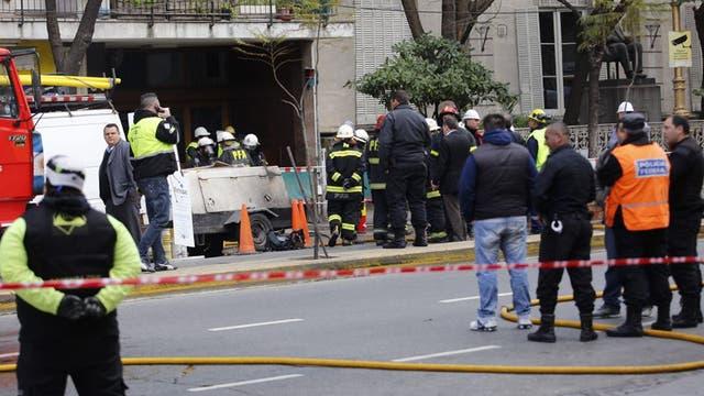Escape de gas en Barracas: murió un operario y varias personas hospitalizadas