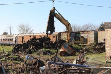 El Estado tiene relavadas unas 100.000 toneladas de chatarra ferroviaria