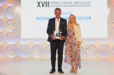 Sergio Guillaumet, de Midory, Mejor Frutihorticultor