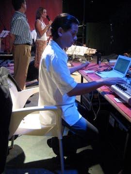 Damián Boggio, el dandy de la nueva generación de DJ. Foto: Gentileza Damian Boggio