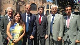 Dietrich y su equipo en Roma