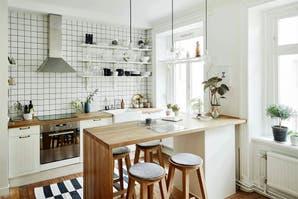 8 ideas para una barra en la cocina