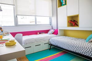 Cuarto de chicos: un espacio funcional para dos hermanos