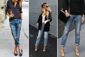 Moda en las redes: cómo llevar boyfriend jeans, uno de los ítem más buscados por las mujeres