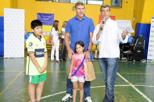 El Titán aceptó la invitación del club xeneize para una jornada solidaria. Foto: Boca Juniors