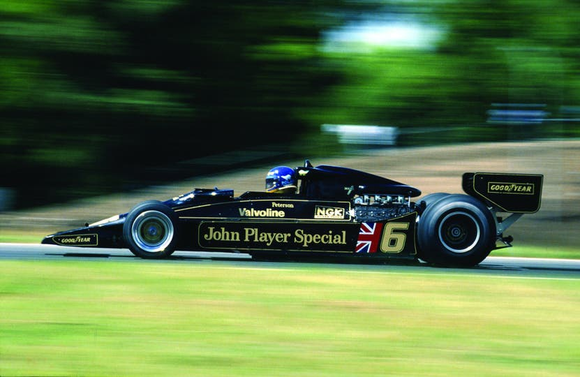 El Lotus 78 de 1977. Para muchos, el F1 más hermoso de todos los tiempos