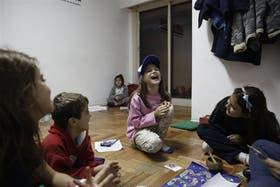 En Aiken, Joaquín y su grupo atraviesas el duelo con juegos y charlas
