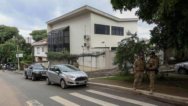 La sede del Instituto Lula, uno de los lugares allanados hoy por la policía brasileña
