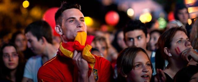 La tristeza también se hizo presente en Madrid