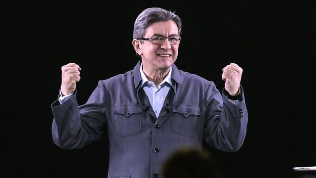 Jean-Luc Melenchon, candidato a presidente de Francia