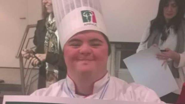 Mateo, el argentino con síndrome de Down que está entre los mejores pizzeros del mundo