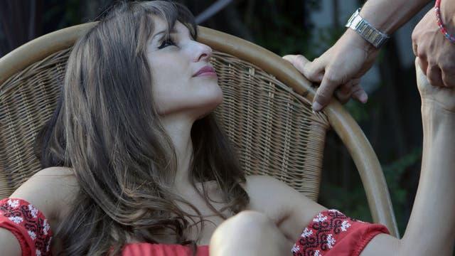 Pampita Ardohain debuta en el cine. Foto: Fernando Massobrio