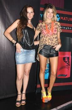 Catarina Spinetta y María del Cerro también participaron del cierre de la última campaña de Axe. Foto: Tiff