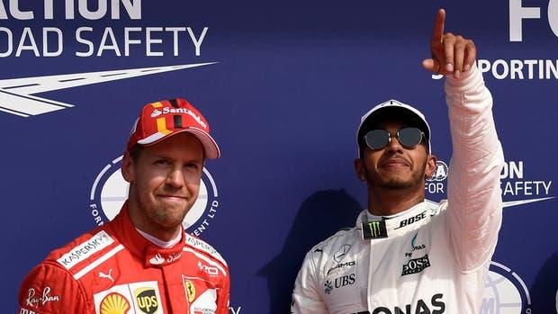 Vettel necesita ponerle freno al avance de Hamilton
