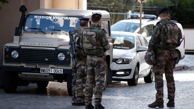 La policía custodia la zona donde se produjo el ataque