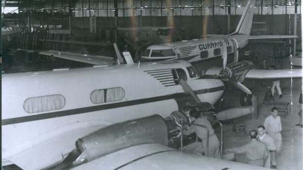 La Fabrica Argentina de Aviones en Córdoba. Foto: Archivo