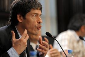 El jefe de Gabinete, Juan Manuel Abal Medina