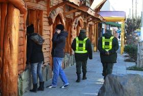 La Gendarmería ya patrulla las calles de El Calafate para intentar contener la ola delictiva