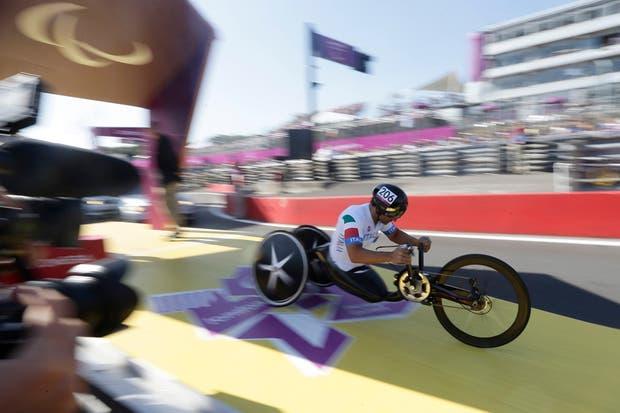 Alex Zanardi se quedó con el oro parlímpico en Londres