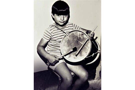 Jorge Mangeri, de niño. Foto: Gentileza revista Gente