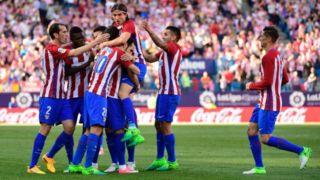 Atlético goleó 3-0 a Osasuna
