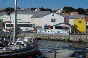 Puerto Stanley, en las islas Malvinas