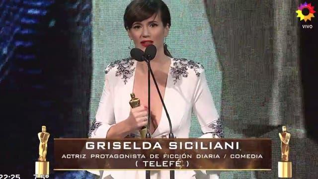 Griselda Siciliana, ganadora por Educando a Nina