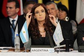 Cristina inauguró la reunión del Mercosur en Mendoza y condenó la destitución de Fernando Lugo en Paraguay