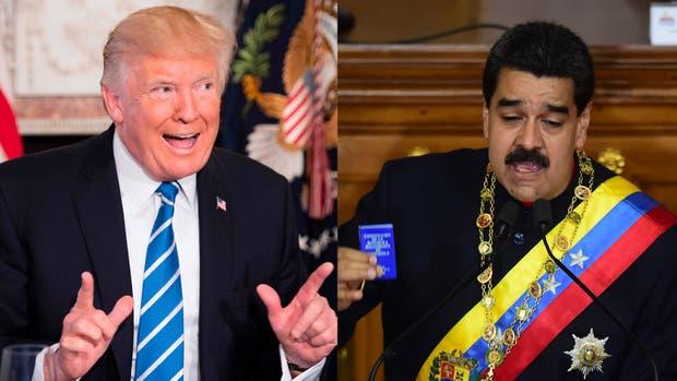 Donald Trump y Nicolás Maduro, Estados Unidos y Venezuela