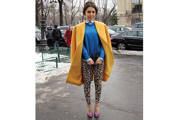El mostaza es una alternativa al amarillo flúo del verano. Foto: Agustina Garay Schang (desde París)