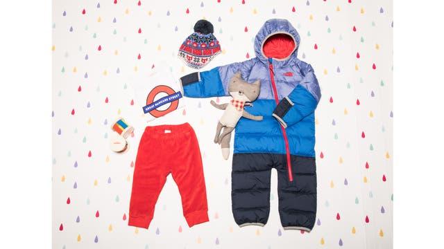 Para pequeños esquiadores