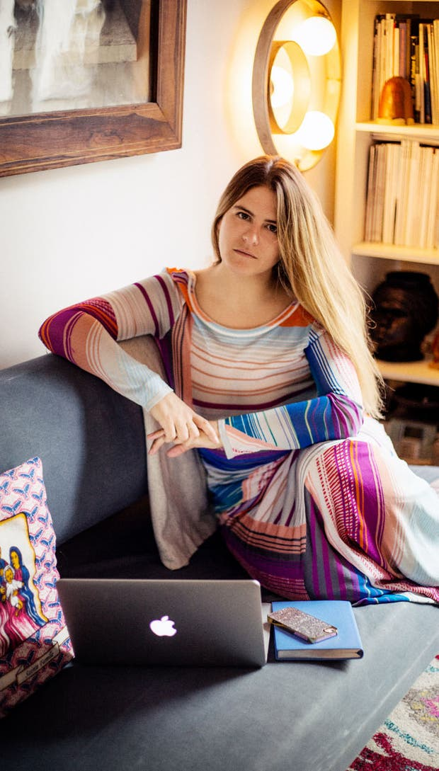 Alexandra van Houtte creó el buscador de moda Tagwalk desde el cuarto de su casa y son sus ahorros