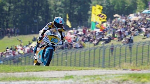 Gabriel Rodrigo se lució en Brno y se quedó con la pole