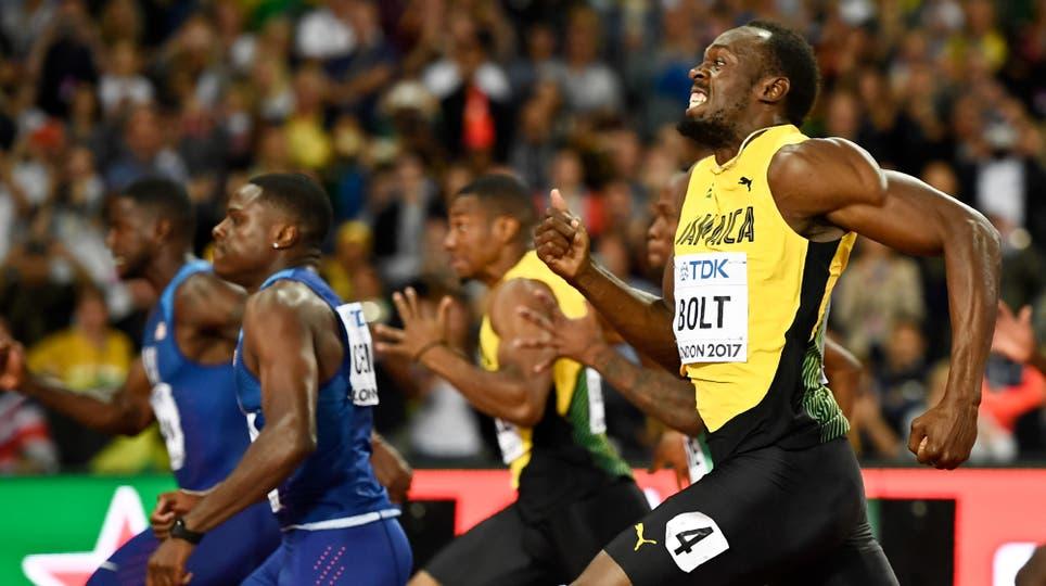 En su última carrera de los 100 metros, Usain Bolt fue tercero y ganó Justin Gatlin. Foto: Reuters / Dylan Martinez