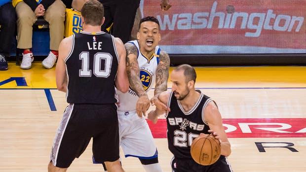 Golden State y San Antonio volverán a enfrentarse en la noche del martes: Manu Ginóbili, pieza clave en los Spurs