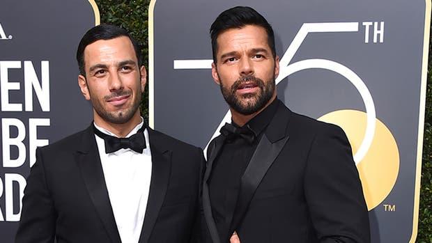 Ricky Martin junto a su flamante marido, Jwan Yosef