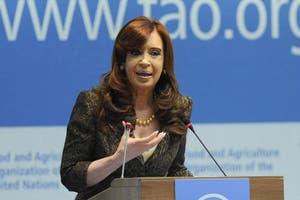 Según Cristina Kirchner, en la Argentina hay menos pobreza q