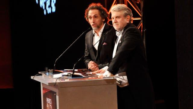 Gorlero y Pashkus, los organizadores de los Premios Hugo