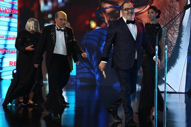 Sin hacer discursos políticos, Lanata se llevó el Martín Fierro a mejor labor periodística en televisión