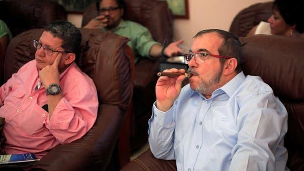 Los líderes de las FARC siguieron anteayer el plebiscito por TV desde La Habana
