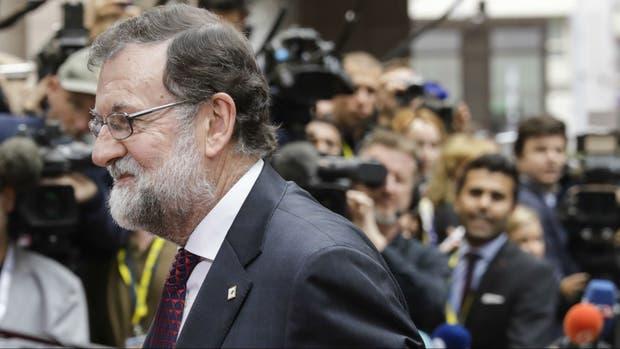El presidente Mariano Rajoy llegó hoy a Bruselas para participar de la cumbre de la UE