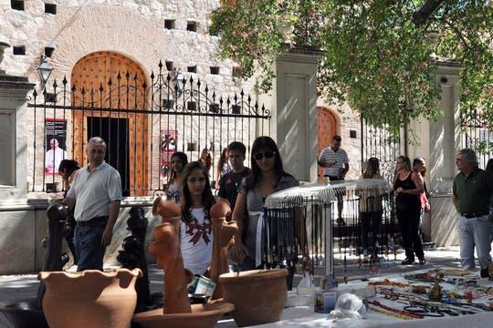 En Córdoba, uno de los atractivos fue el recorrido por los centros jesuitas. Foto: Télam