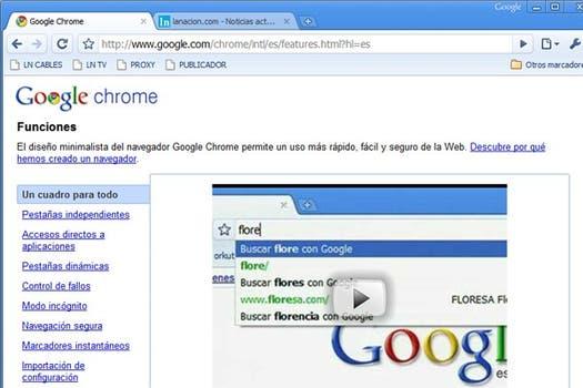 Google pondrá a disposición el código fuente antes de fin de año, sin embargo se pudo saber que se basará en Linux y en su navegador Chrome. Foto: lanacion.com