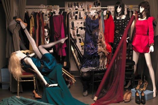 Algunas de las imágenes de Lius Bolin en la galería de Nueva York.