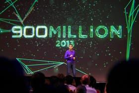 Sundar Pichai, vicepresidente de Google, anuncia que ya son 900 millones los dispositivos activados con Android