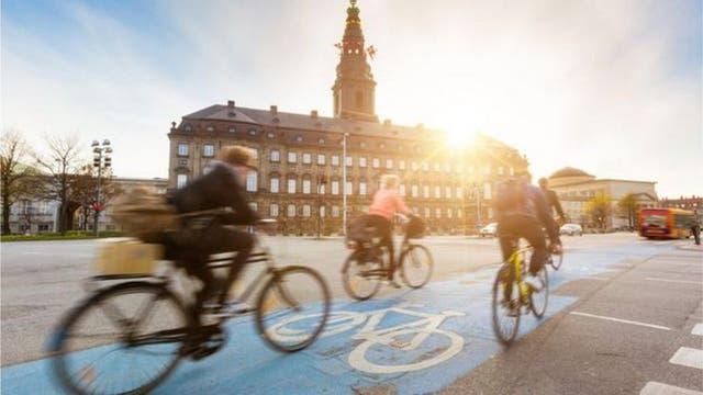 Una energía para ahorrar energía demostró no ser tan buena para los ciclistas que circulaban por la noche en Copenhague