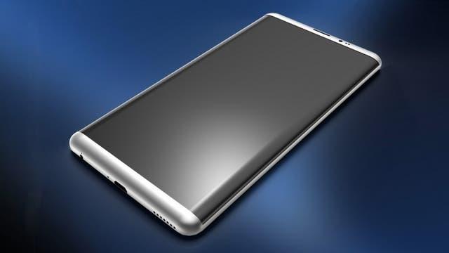 La pantalla del Galaxy S8 casi no deja lugar para el marco en el frente del equipo