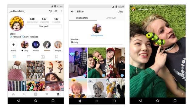 Historias destacadas, la nueva herramienta de Instagram