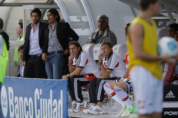 Emiliano dirigió el equipo con el Marcelo Escudero